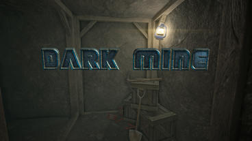 Dark Mine - Mine Shaft Corridors Cinematic Intro After Effects Template