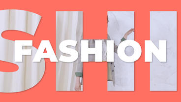 Clean fashion promo After Effects Template