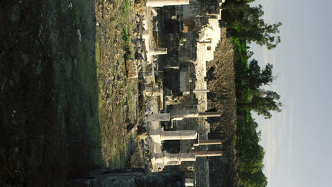 Royalty Free Stock Video Footage of ruins at Beit She'an shot in Israel at 4k wi Live Action