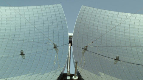Royalty Free Stock Video Footage of solar panels shot in Israel at 4k with Red Live Action