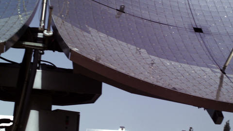 Royalty Free Stock Video Footage of solar panel rows shot in Israel at 4k with R Live Action
