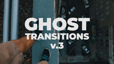 Ghost Transitions Presets V 3 Premiere Pro Template