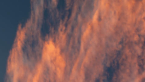 Royalty Free Stock Video Footage of clouds lit by sunset shot in Israel at 4k wi Live Action