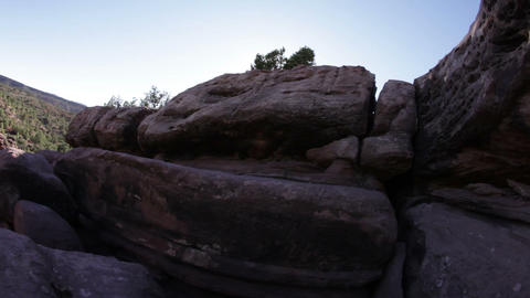 Vista from an Outcropping Footage