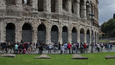 View of colosseum Footage