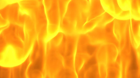 Fire close-up background loop CG動画素材