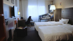 Hotel Bedroom Furniture With Pinball Machine Live Action