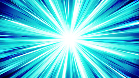 Starburst rays in space. Cartoon beam loop animation. Future technology concept Videos animados