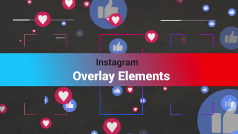 Instagram Toolkit- Overlays V1 Motion Graphics Template