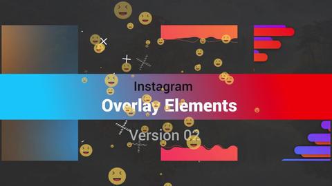 Instagram Toolkit- Overlays v2 モーショングラフィックステンプレート
