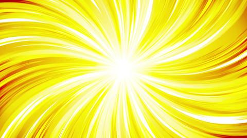 Cartoon beam animation. Shiny sun background. Sunburst rays in heaven. Abstract Animation