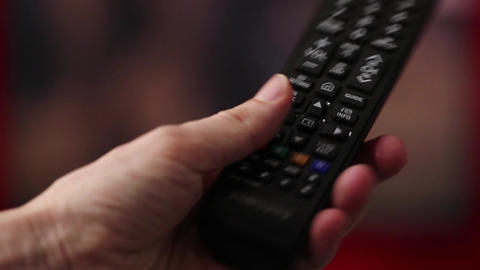 Remote Control For TV Footage