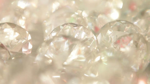 Cut Diamonds on Display Footage