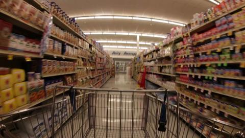 Fisheye Grocery Run Footage