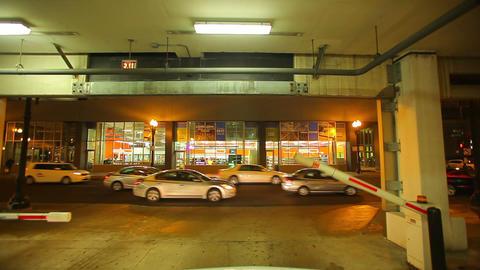 City parking garage Footage