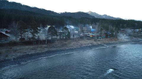 Siberian Village Footage