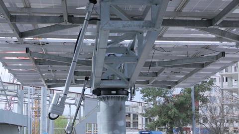 Tracking Solar Panel Equipment ビデオ