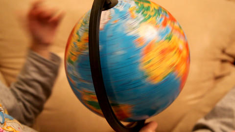 globe Stock Video Footage