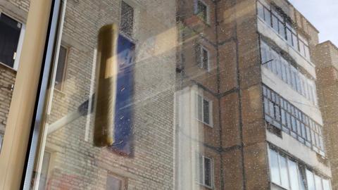 window Stock Video Footage