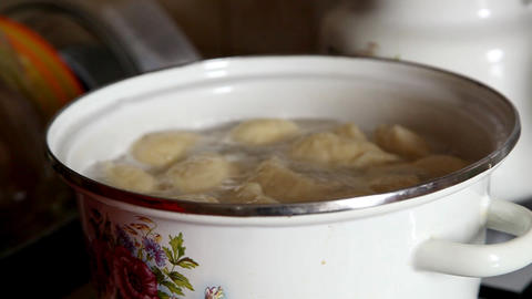 dumplings Stock Video Footage