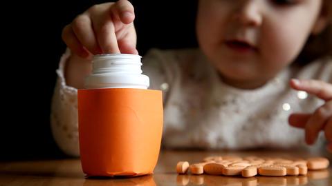 pills Stock Video Footage