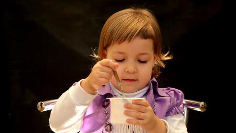 yogurt Stock Video Footage