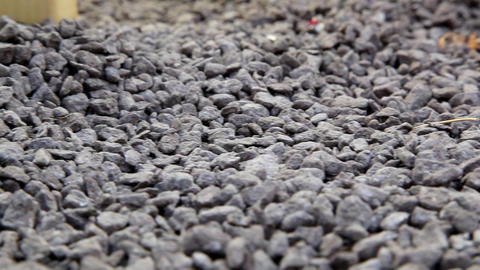 Gravel stock footage