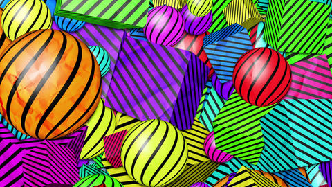 Psychedelic stock footage