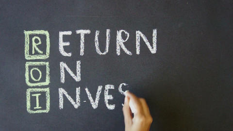 Return on Investment Stock Video Footage