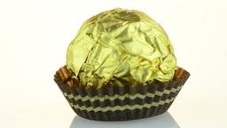 Chocolate bonbon Stock Video Footage