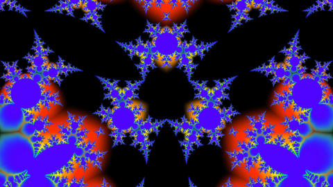 Bright fractal Stock Video Footage