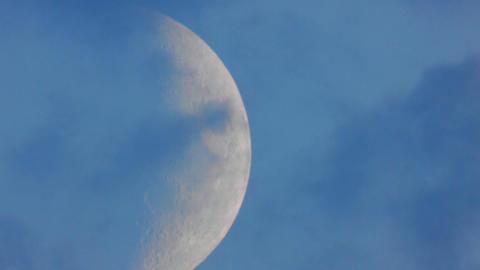 Moon closeup 3 ビデオ