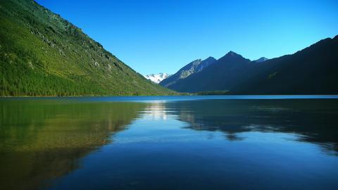 Mountain lake HD LOOP Stock Video Footage