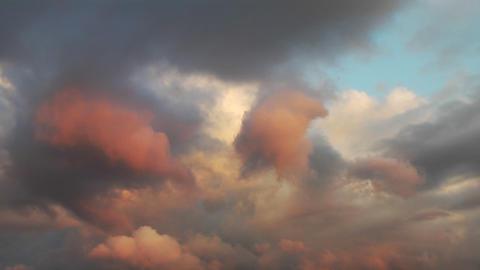 Rain clouds Stock Video Footage