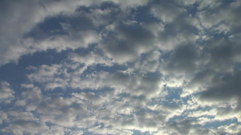 Sunrise clouds 2 Stock Video Footage