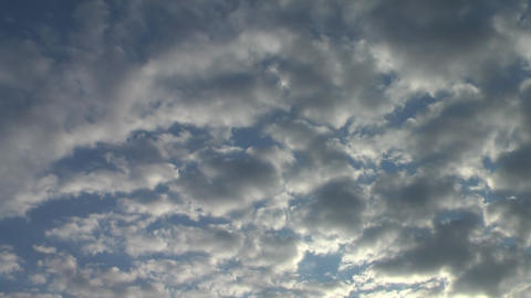 Sunrise clouds 2 Stock Video Footage