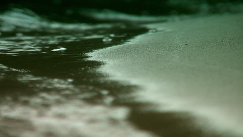 Surf macro shot 3 Stock Video Footage