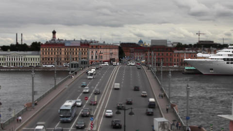 Traffic time lapse Stock Video Footage