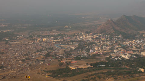 Pushkar panorama Stock Video Footage