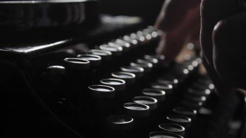 Tracking Typing stock footage