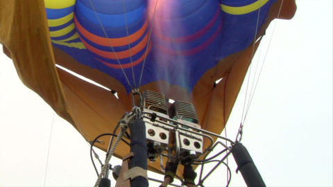 hot-air balloon 12 Footage