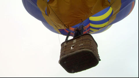 hot-air balloon 14 Stock Video Footage