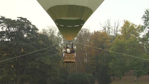 hot-air balloon 22 Stock Video Footage