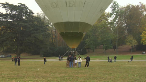 hot-air balloon 24 Stock Video Footage