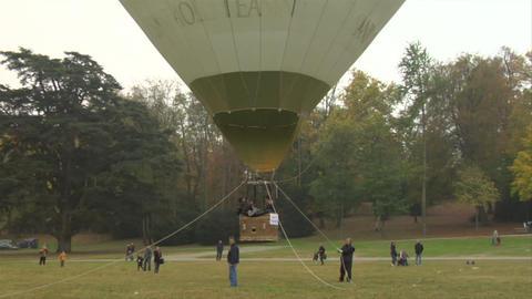 hot-air balloon 24 Stock Video Footage