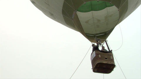 hot-air balloon 26 Stock Video Footage