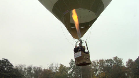 hot-air balloon 28 Stock Video Footage