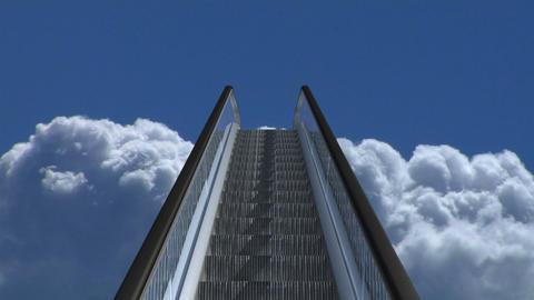 stairway 21 Stock Video Footage