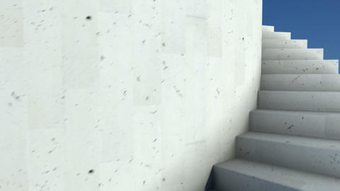 stairway 31 Stock Video Footage
