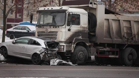 car crash Stock Video Footage